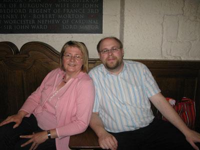 Michael und Angelika Herzog / St. Pauls Cathedral