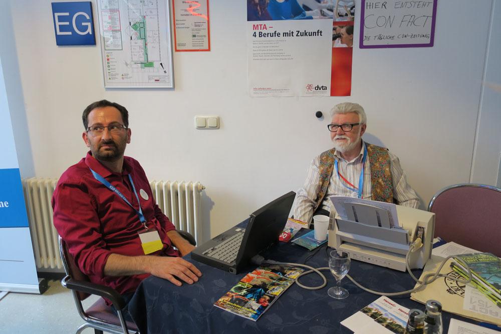 Eckhard D. Marwitz, Matthew und der Con-Fact-Stand